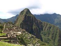 Crête de Machu Picchu Images libres de droits