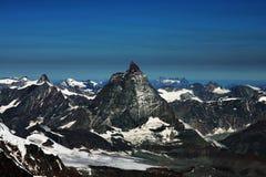 Crête de Matterhorn Photographie stock