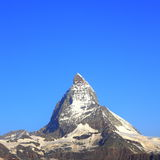 Crête de Matterhorn, Suisse Photo stock