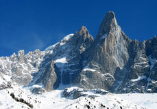 Crête de montagne Photographie stock
