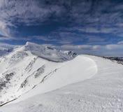 Crête de montagne d'Ancares Photo stock