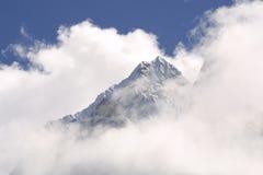 Crête de montagne de l'Himalaya Image stock
