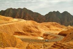 Crête de montagne Shlomo. Photographie stock libre de droits