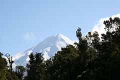 Crête de Mt Taranaki images libres de droits