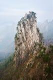 Crête de négligence de stalagmite de crête de Shixin Images stock