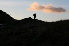 Crête de passage de Hardknott photographie stock libre de droits