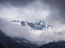 Crête et Eagle du mont Everest Photos stock