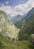 Crêtes de l'Europe, en Asturies, l'Espagne Image stock