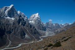 Crêtes de l'Himalaya image stock