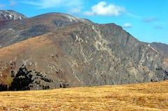 Crêtes de montagne à RMNP Image libre de droits