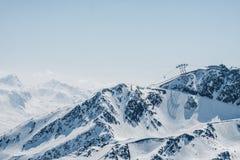 Crêtes de montagne photographie stock libre de droits
