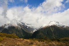 Crêtes de montagne Image libre de droits