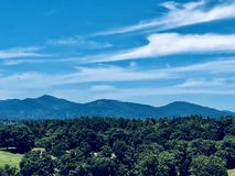 Crêtes du Ridge bleu Photographie stock