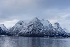Crêtes norvégiennes Photographie stock