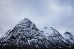 Crêtes norvégiennes Images stock