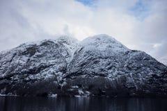 Crêtes norvégiennes photo libre de droits