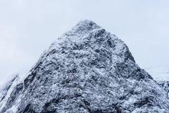 Crêtes norvégiennes photographie stock libre de droits