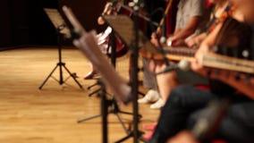 Cría turca del asiático del grupo de la música clásica de la cultura almacen de metraje de vídeo