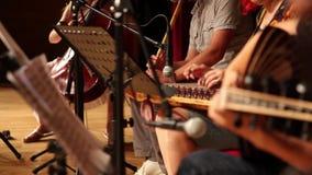 Cría turca del asiático del grupo de la música clásica de la cultura almacen de video