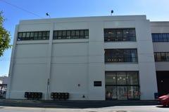 A crônica que constrói Yahoo que constrói 110 a 5a rua Ann Francisco imagens de stock