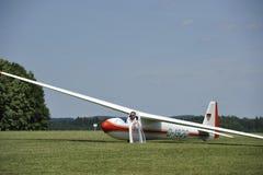 CR del planeador Ka6 Imagen de archivo libre de regalías