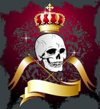 CR flags den blom- illustrationskallevektorn Royaltyfria Foton