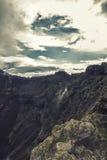 Cr?ter del volc?n de Vesuvio Imagenes de archivo