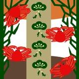 Crabda neve(opilio de Chionoecetes) Foto de Stock