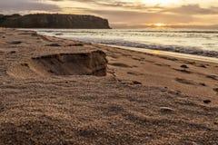 Crab около берега на пляже Cabo Ledo anisette вышесказанного стоковые фото