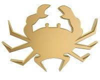 Crab. Golden crab Stock Photo
