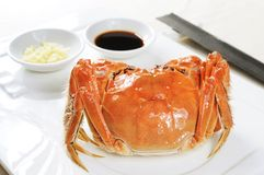 Crab. Chinese crab on the table Royalty Free Stock Photo