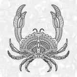 Crab1 Στοκ εικόνες με δικαίωμα ελεύθερης χρήσης