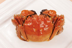Crab. Chinese food,crab,colorful,nice Stock Photo
