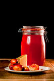 Crab Apple Jelly Royalty Free Stock Photo