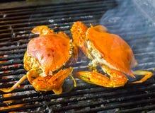 Crab Barbecue Royalty Free Stock Photos