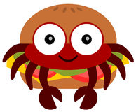 Crab Burger Stock Images