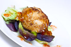Crab cake Royalty Free Stock Image
