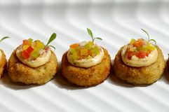 Crab cake Stock Images