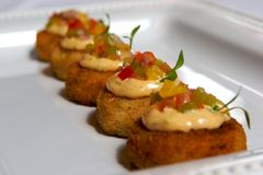 Crab Cakes Royalty Free Stock Images