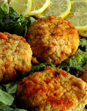 Crab Cakes Stock Photo