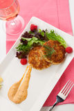 Crab Cakes Royalty Free Stock Image