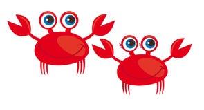 Crab cartoon Stock Photo