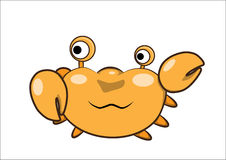 Crab cartoon  Royalty Free Stock Photo