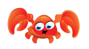 Crab cartoon Royalty Free Stock Image