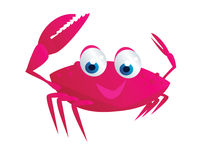 Crab cartoon Stock Images
