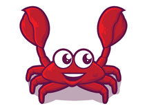 Crab Cartoon Icon Royalty Free Stock Photography