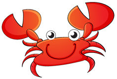 Crab cartoon Royalty Free Stock Photography