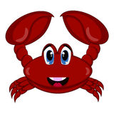 Crab Cartoon Royalty Free Stock Images