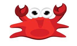 Crab cartoon Stock Images