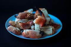 Crab Claws from Atlantic Coast royalty free stock photo